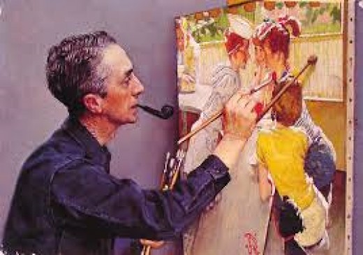Norman Rockwell, iconic American painter, would have loved to paint New Home School