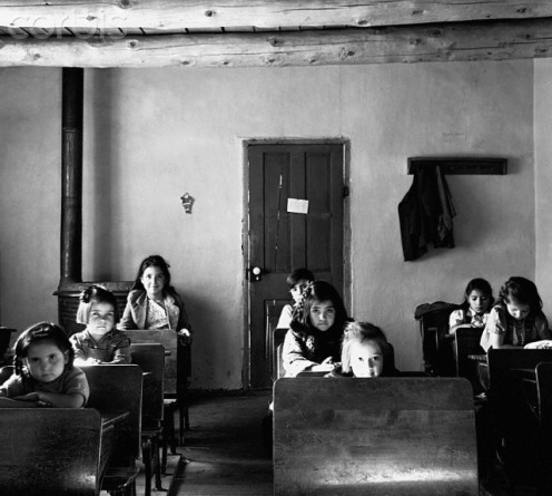Students in one- room school Dec. 1, 1941