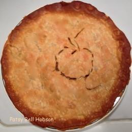 This sausage apple pie