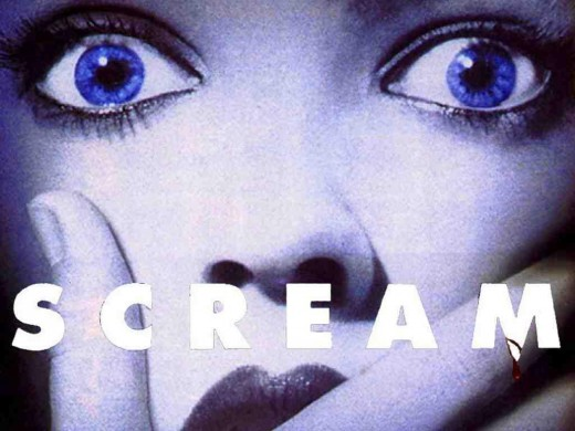 "Official ""Scream"" (1996) poster"