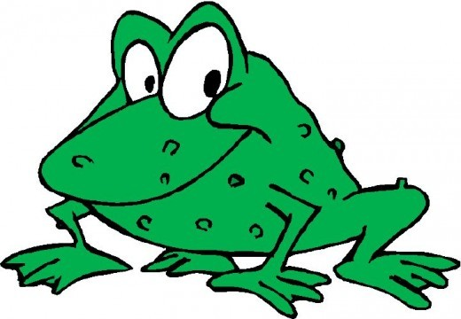 "What type of shoes do frogs wear? - ""Open toad"""