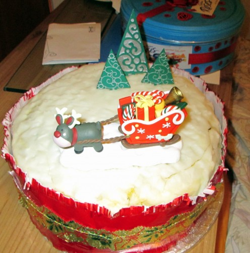 Recipe for Christmas Cake