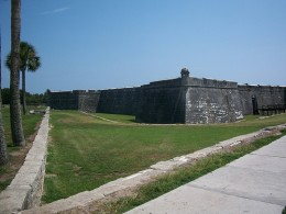 The Tower Seen In The Center Top Of That Fort Wall Is Where The Ghost Light Is Seen.