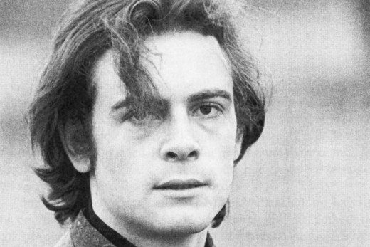 A young Patrick Modiano.