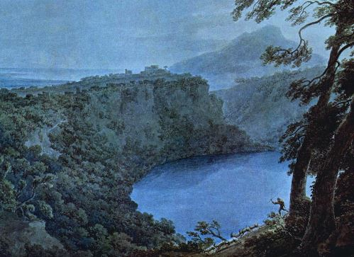 Lake Nemi - J. R. Cozens (1752-1797)