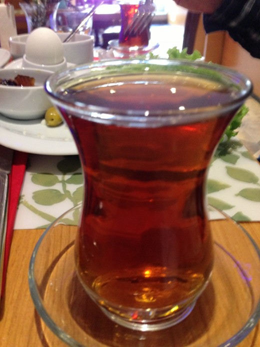 Famous Turkish Tea (This particularly is Apple flavored)