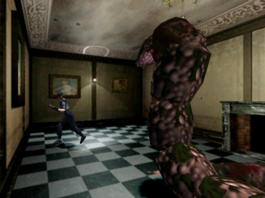 """The recurring boss fight with Yawn hinted at the """"relentless boogeyman"""" mechanic we'd see in RE3 with the Nemesis."""