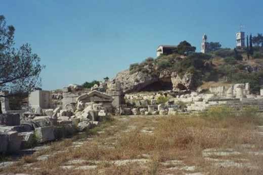 Ruins of ancient Eleusis (own photo).