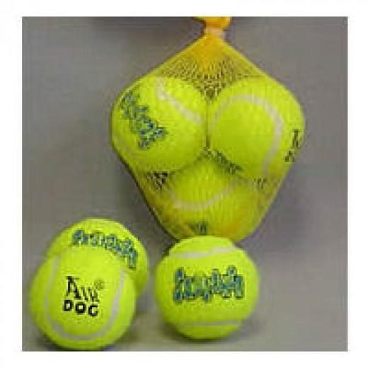 Tiny squeaky Air Kong balls