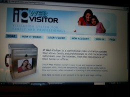 Snap shot view of the website.