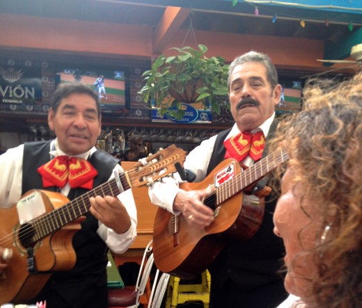 Mariachi music that will bring a tear to a woman's eye.