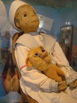 Robert the Doll that is said to be possessed by an evil spirit is one of the spookiest things in Key West.