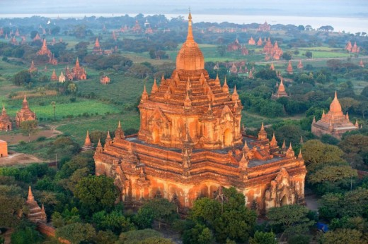 Bagan, and the awe-inspiring landscape.