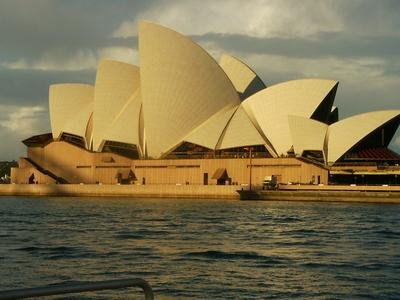 Sydney Opera House - Beautiful from Outside...