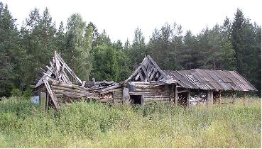 Abandoned cabin in Belarus by brother of Alex Zelenko