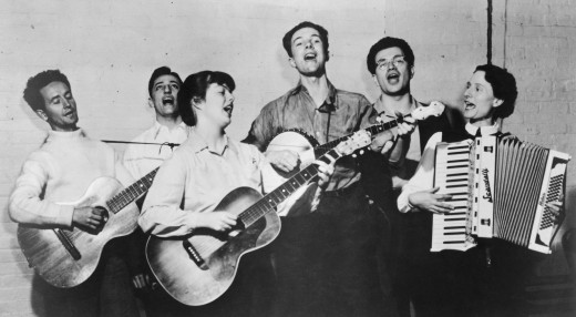 The Almanac Singers, circa 1940