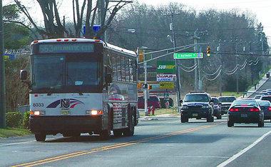 NJ Transit bus to Atlantic City