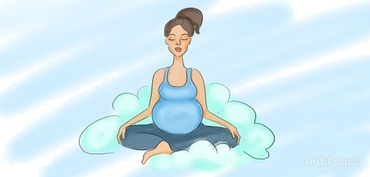 When pregnant, take care of yourself and learn to relax.