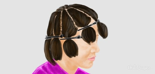 Hairdressing how to putting foils in hairtips tricks advice sectioning hair how to highlight your hair at home pmusecretfo Gallery