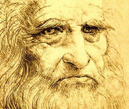 Leonardo da Vinci: self portrait