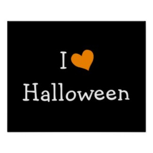 I love Halloween!  (poster and other items available by clicking the source link)