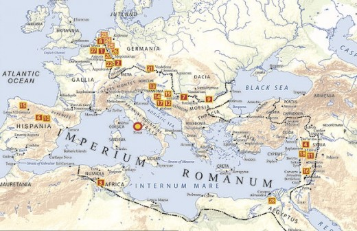 Part of the Holy Roman Empire