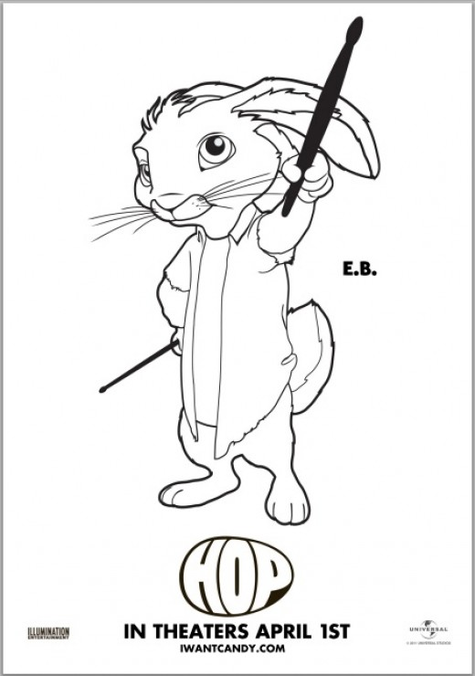 hop movie printable coloring pages - photo#12