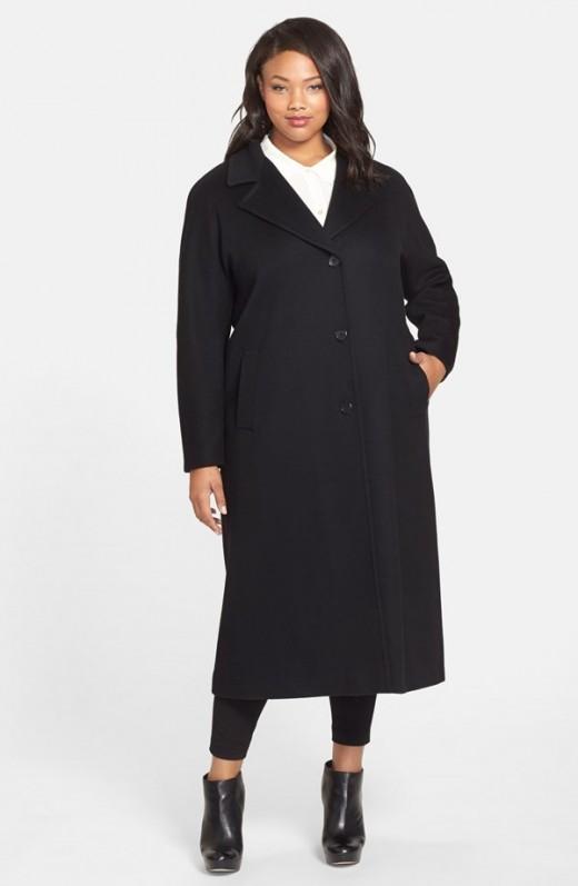 classic long wool coat