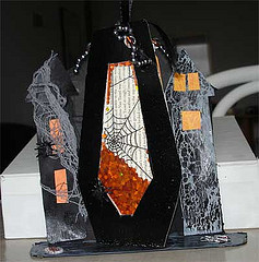 Interactive Halloween Coffin