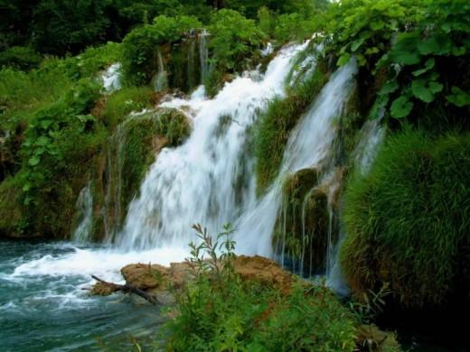 Cherapunji falls Kerala India