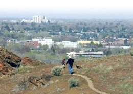 Boise Foothills facing city.  Image from Google Images