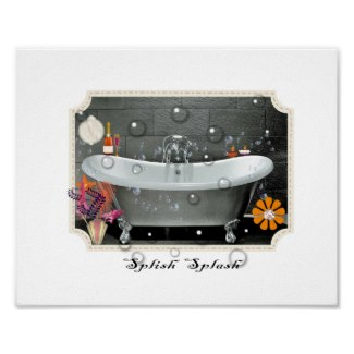 Bathroom Wall Décor Vintage Inspired Art Print and other items available by clicking the source link.