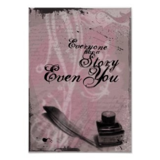 Everyone has a Story posters and other items available by clicking the source link.