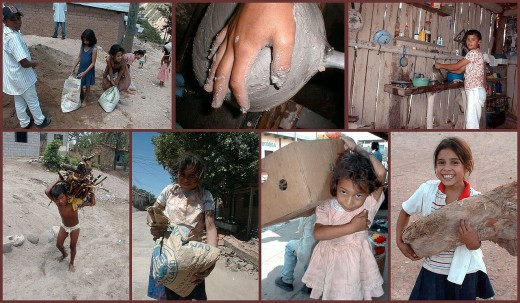 Different Forms of Child Labor in Central America