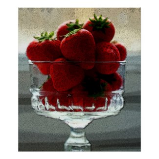 Strawberries are delicious posters and other items available by clicking the source link.