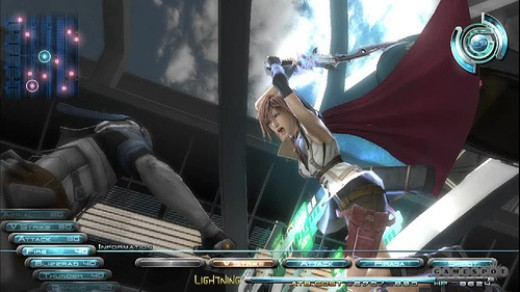 Final Fantasy XIII Game Play