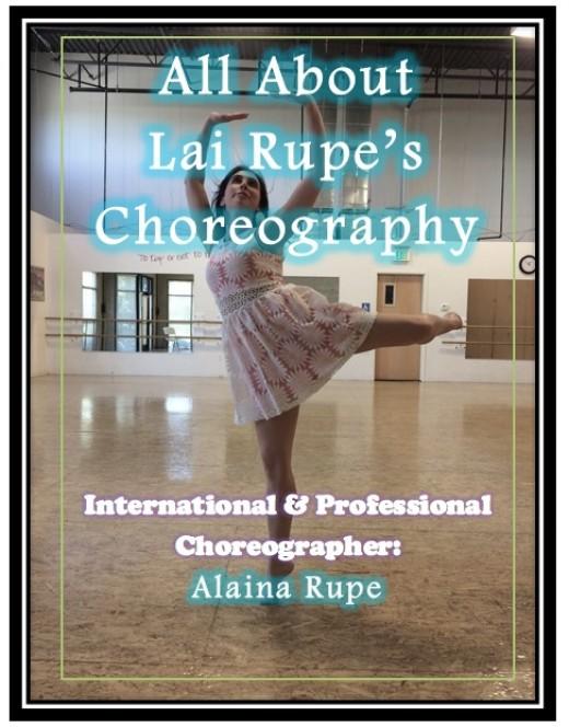 Lai Rupe - International Choreographer