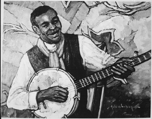 The Banjo Player