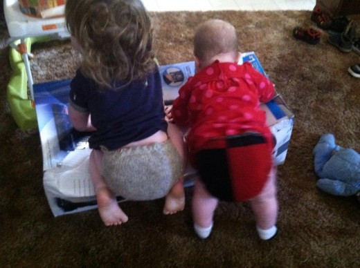 Wool diapers are a great alternative to disposable and cloth diapers.