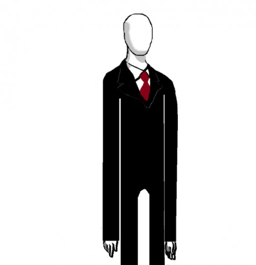 Illustration of Slenderman