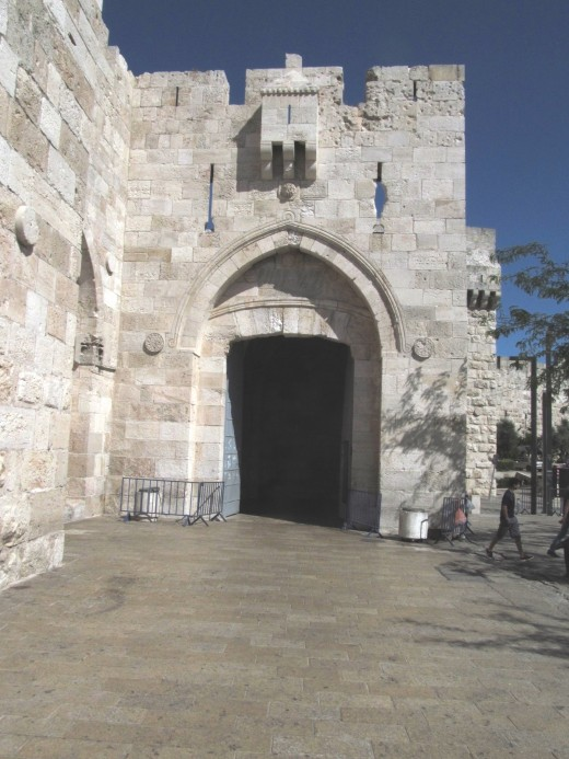 Jaffa Gate, Old City, Jerusalem