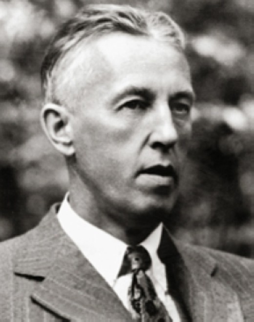 Photo of Alcoholics Anonymous founder Bill Wilson.