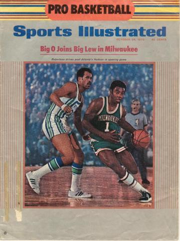 Oscar Robertson on the cover of Sports Illustrated