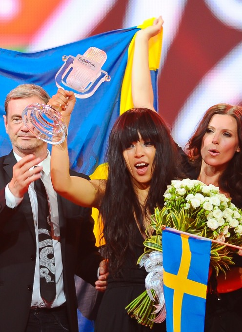 Loreen: Winner of the 2012 Eurovision Song Contest for Sweden