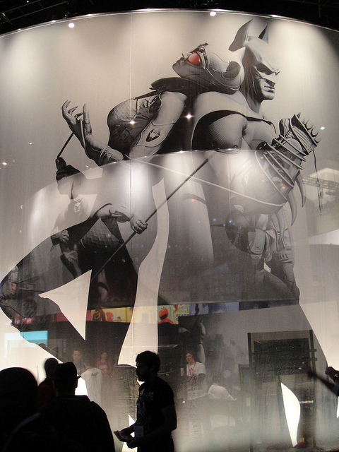 Batman and Catwoman Arkham City Style