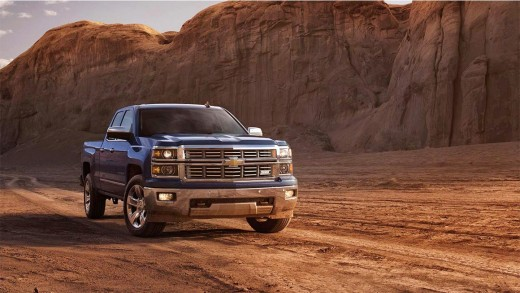 2015 Chevy Silverado 1500 LTZ Z71 Blue Photo