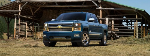 2015 Chevy High Country Blue Photo