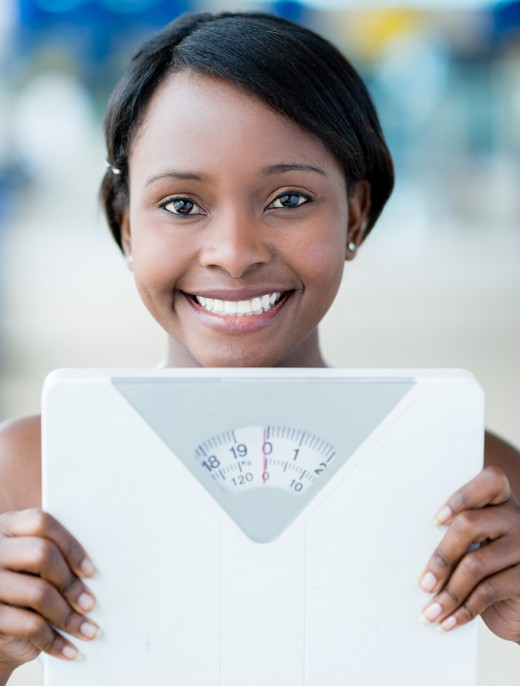 A BMI less than 25 is considered healthy and reduces the risk of stroke in women.