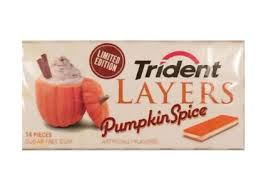 I get the cinnamon flavor, since it already exists for gum, but pumpkin spice?... I don't want to be paid in this gum.
