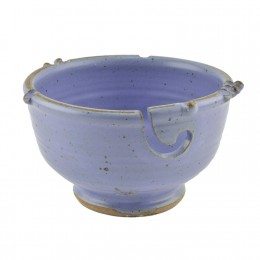 Anthony stoneware handmade yarn bowl - lavender